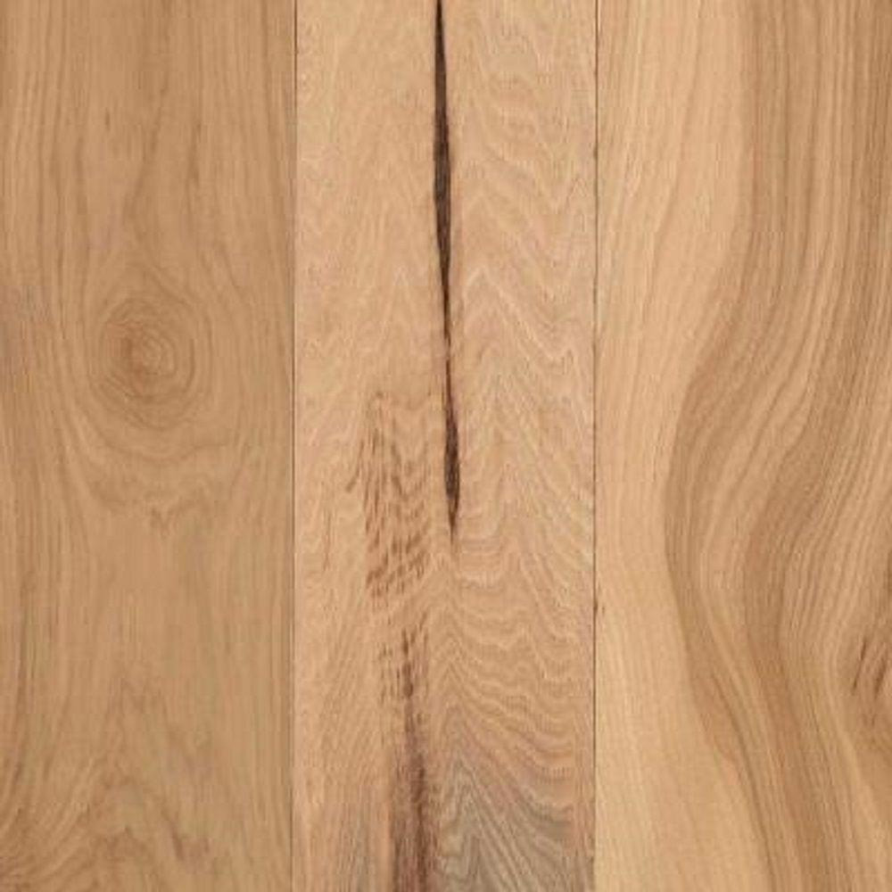 Mohawk Take Home Sample Middleton Country Natural Hickory Engineered Hardwood Flooring 5 In
