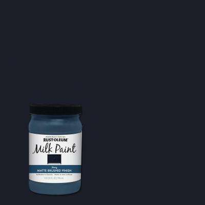 1 qt. Brush On Craft Milk Paint, Navy (2 Pack)