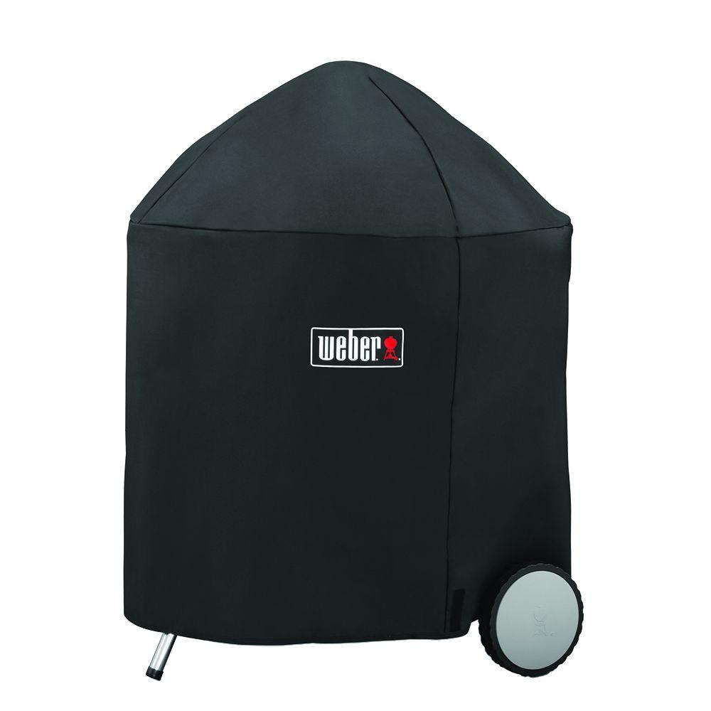 Weber 26 in. Charcoal Grill Cover,  Black