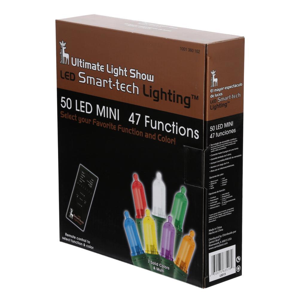 50-Light LED Mini Light Set 52 Functions