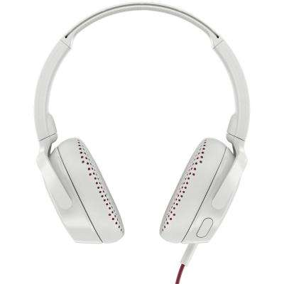 Riff On-Ear Wired Headphones with Microphone in White