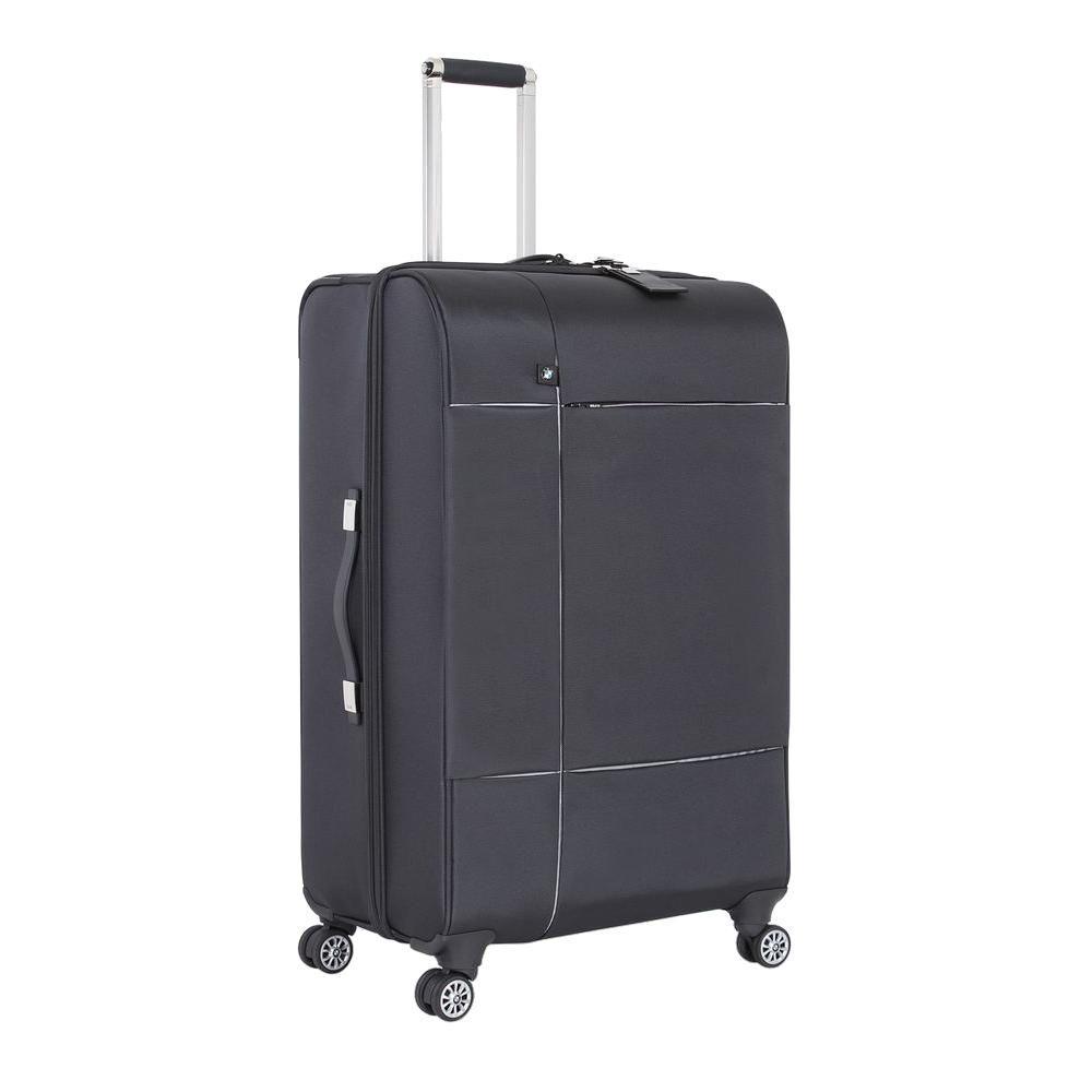 29 in. Graphite Split Case Spinner Suitcase
