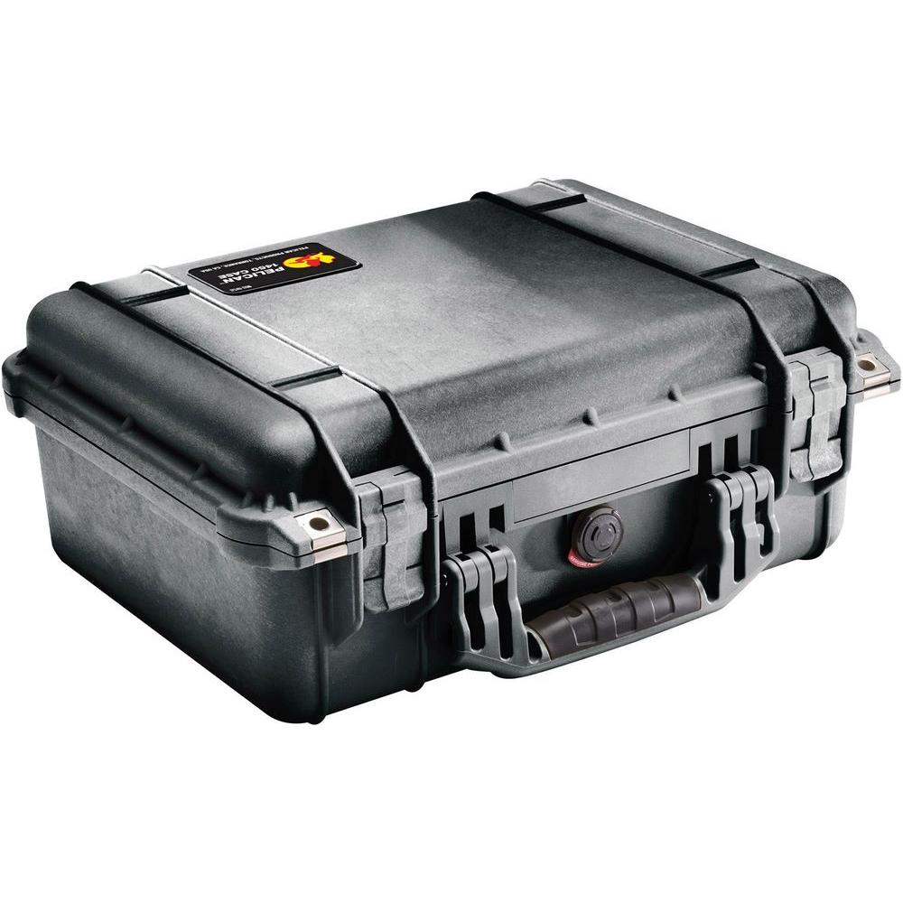 Pelican 1450 Case with Foam in Black