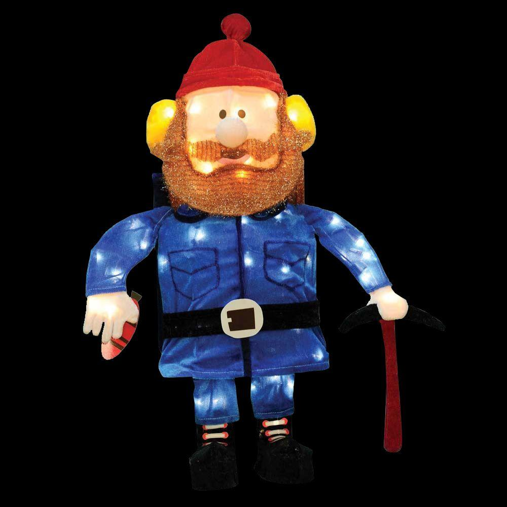rudolph led pre lit yukon cornelius - Rudolph Christmas Decorations