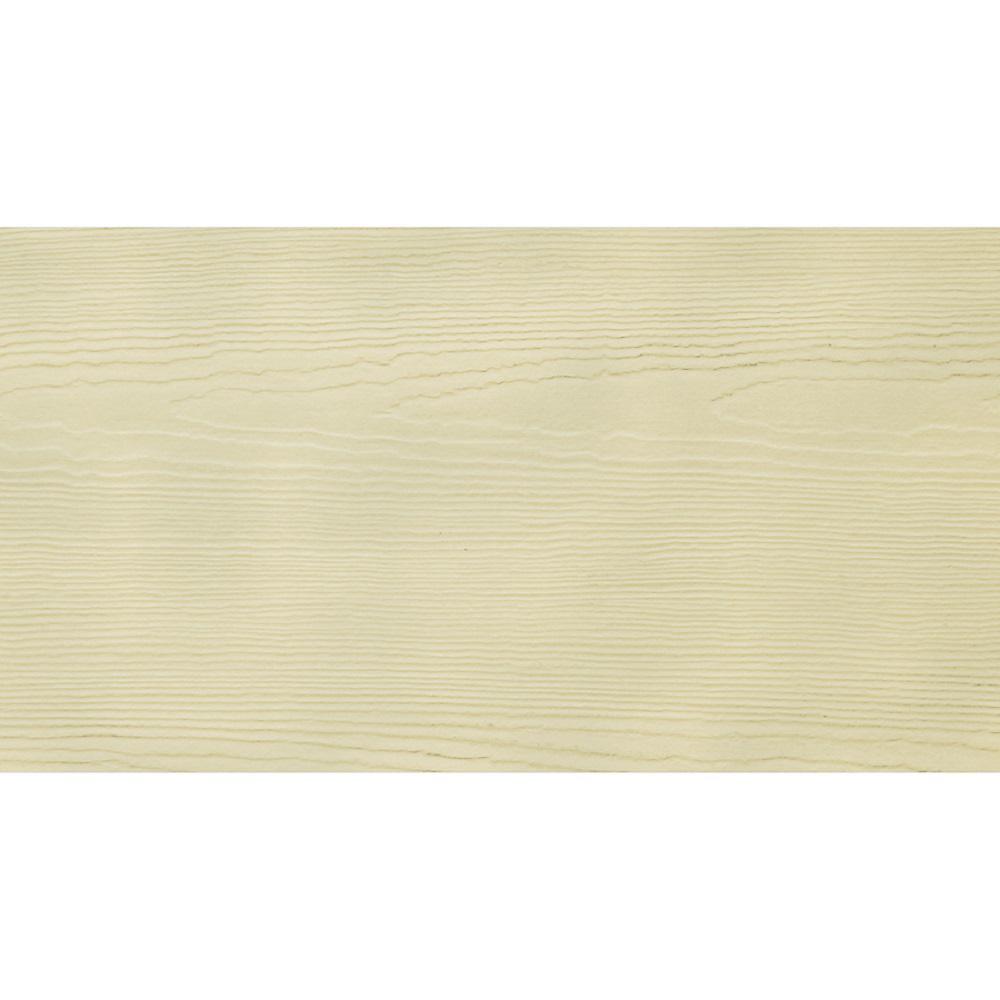 HardieSoffit HZ10 1/4 in. x 48 in. x 96 in. Fiber Cement Primed Cedarmill Non-Vented Soffit Panel