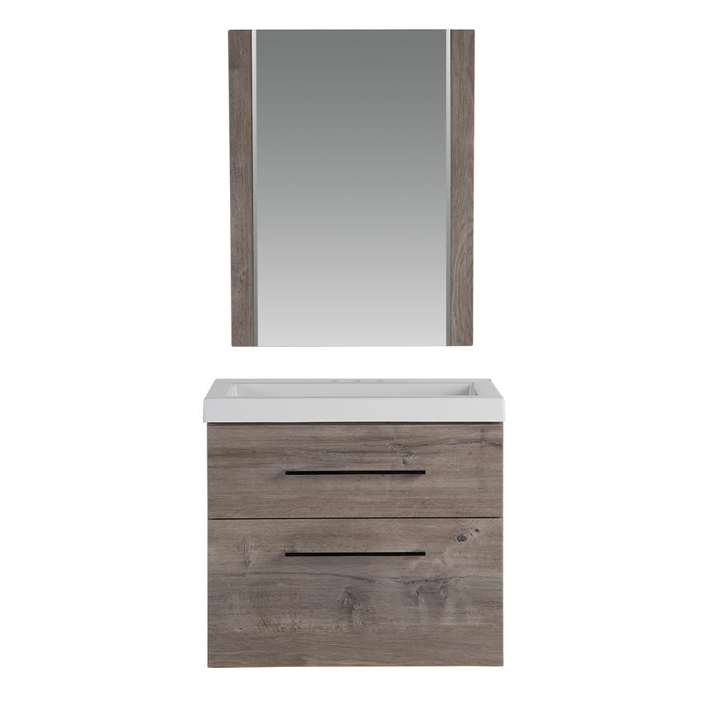 Glacier Bay 36 1 2 In W Vanity In White With Cultured Marble Vanity Top In White With White