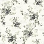 Watercolor Check Paper Strippable Roll Wallpaper (Covers 56 sq. ft.)