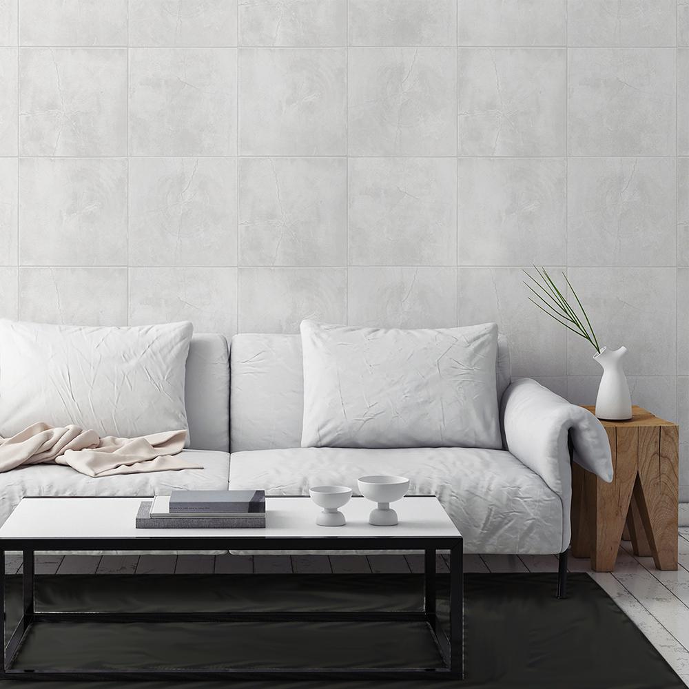 56.4 sq. ft. Daintree Ivory Wood Wallpaper