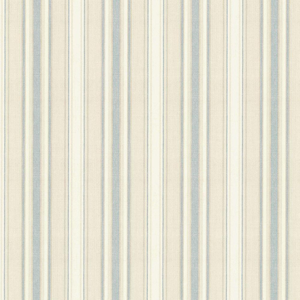 Ellsworth Sky Sunny Stripe Wallpaper