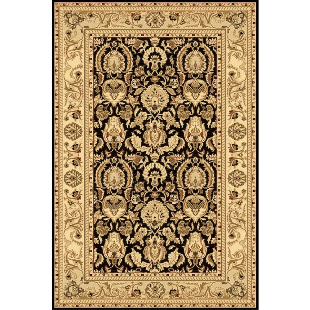 LA Rug 8603/80 Ziggler Collection 4 ft. x 6 ft. Area Rug-DISCONTINUED