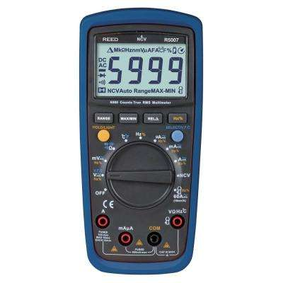 TRMS Digital Multimeter with Non-Contact Voltage Detector