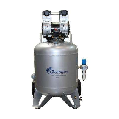 Ultra-Quiet 30 Gal. 2.0 HP Portable Electric and Oil-Free Air Compressor