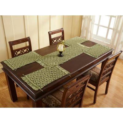 13 in. x 36 in. Sage Solid Runner