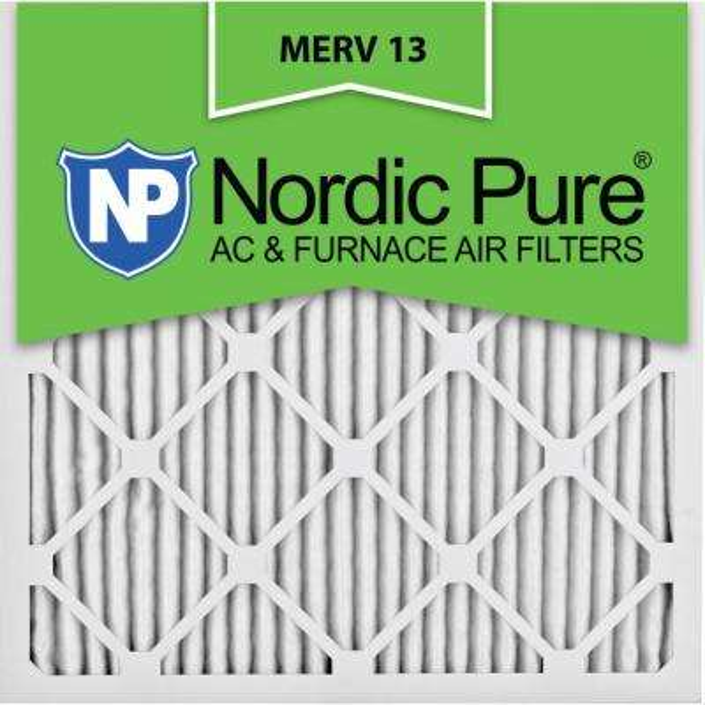 24 in. x 24 in. x 1 in. Ultimate Pleated MERV 13 - FPR 10 Air Filter (3-Pack)