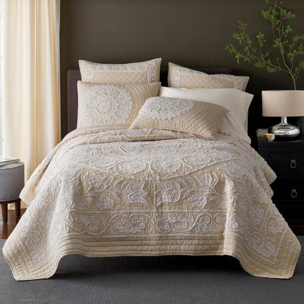 The Company Store Bianca Cotton Full/Queen Quilt 50291Q-FQ-MULTI