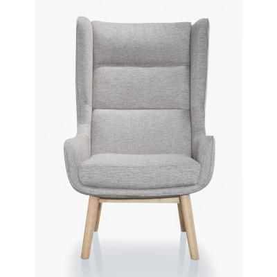 Natural Gray Sampson Accent Chair