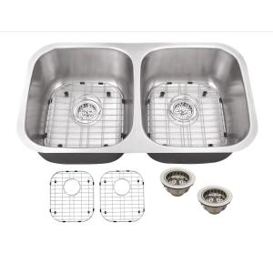 IPT Sink Company Undermount 29 in. 18-Gauge Stainless Steel Kitchen Sink