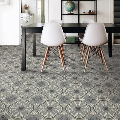Soho Grey Decorative Residential/Light Commercial Vinyl Sheet Flooring 13.2ft. Wide x Cut to Length