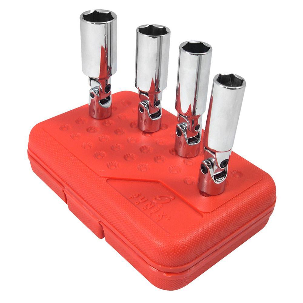 3/8 in. Drive Spark Plug Socket Set Universal