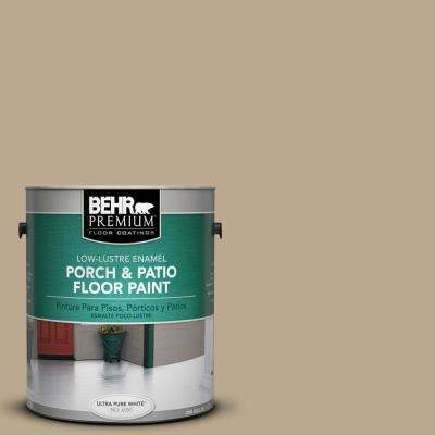 1 gal. #N300-4 Open Canyon Low-Lustre Interior/Exterior Porch and Patio Floor Paint