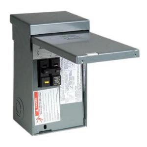 eaton ch 60 amp 4 circuit outdoor spa panel with self test ground rh homedepot com