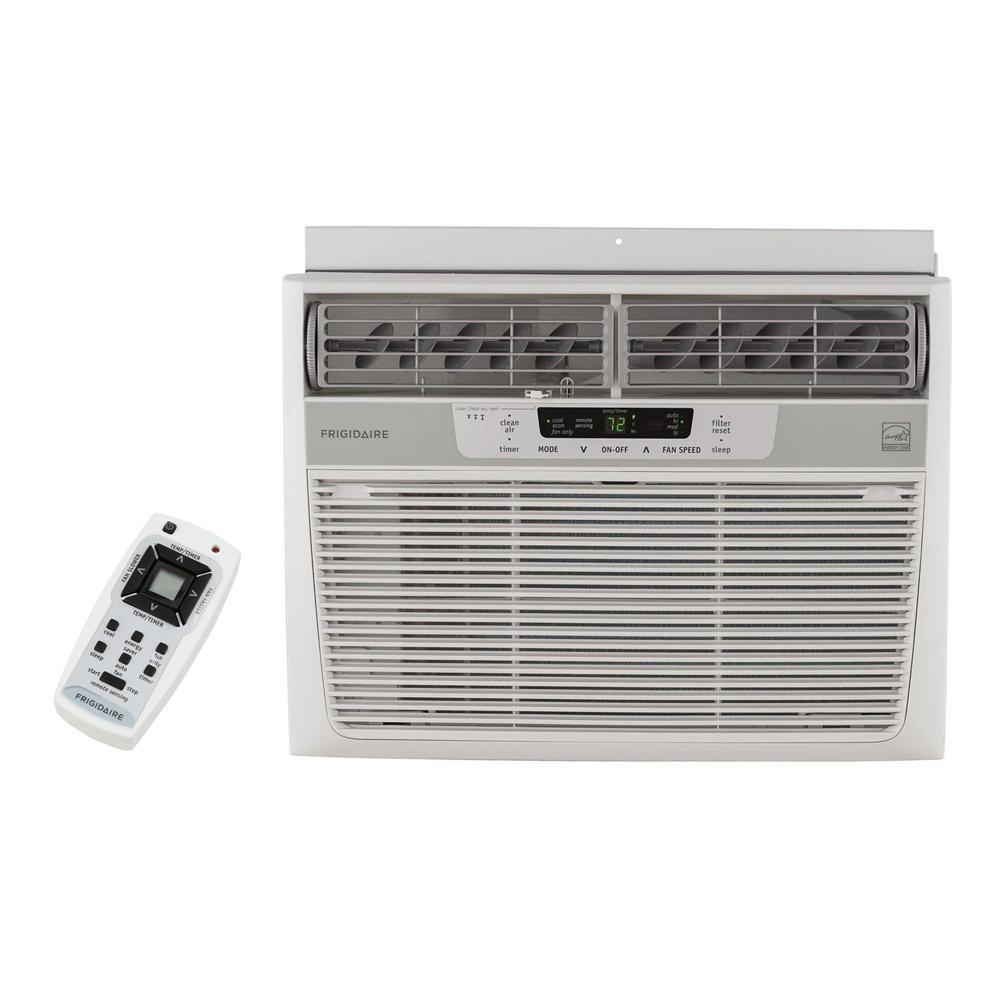 frigidaire 12 000 btu 115 volt window mounted compact air. Black Bedroom Furniture Sets. Home Design Ideas