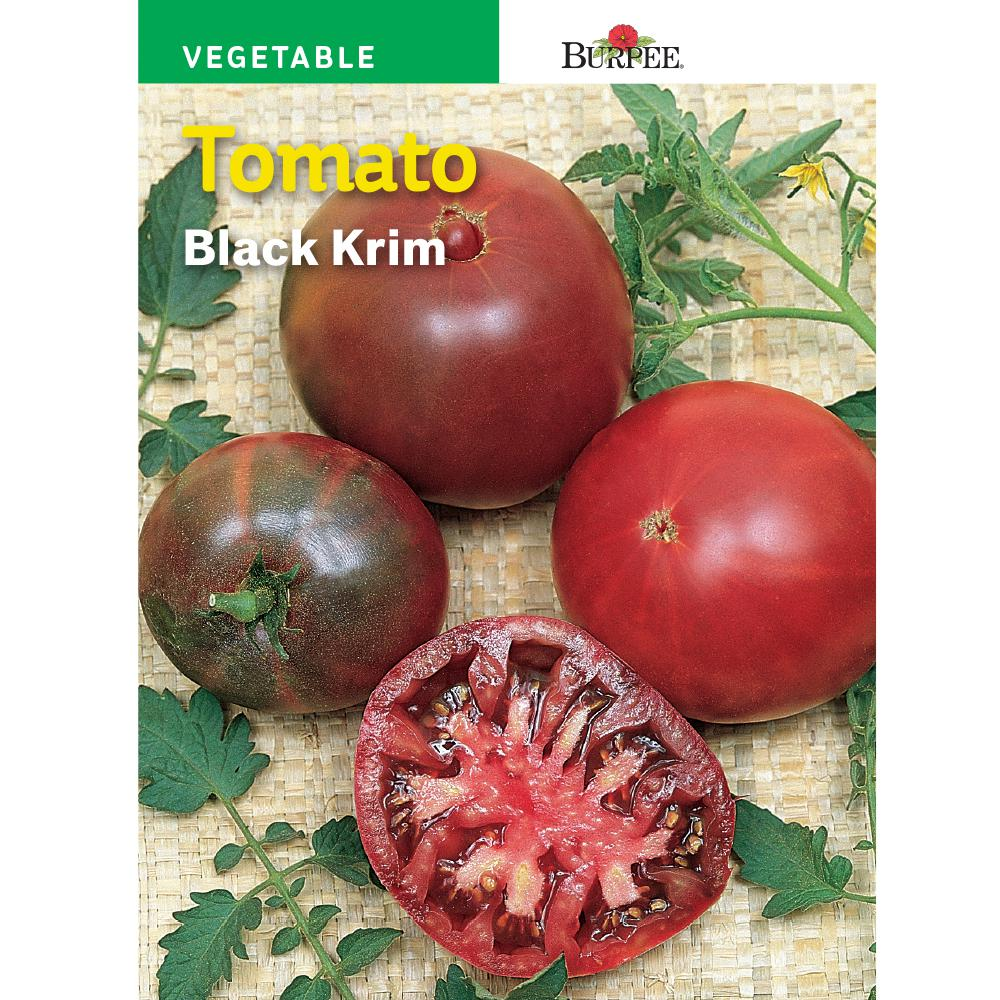 Bur Tomato Black Krim Heirloom Seed