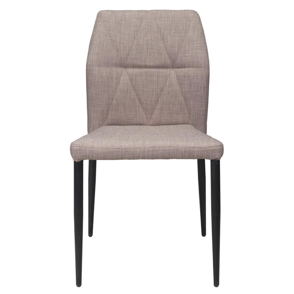 Revolution Light Gray Dining Chair (Set of 2)
