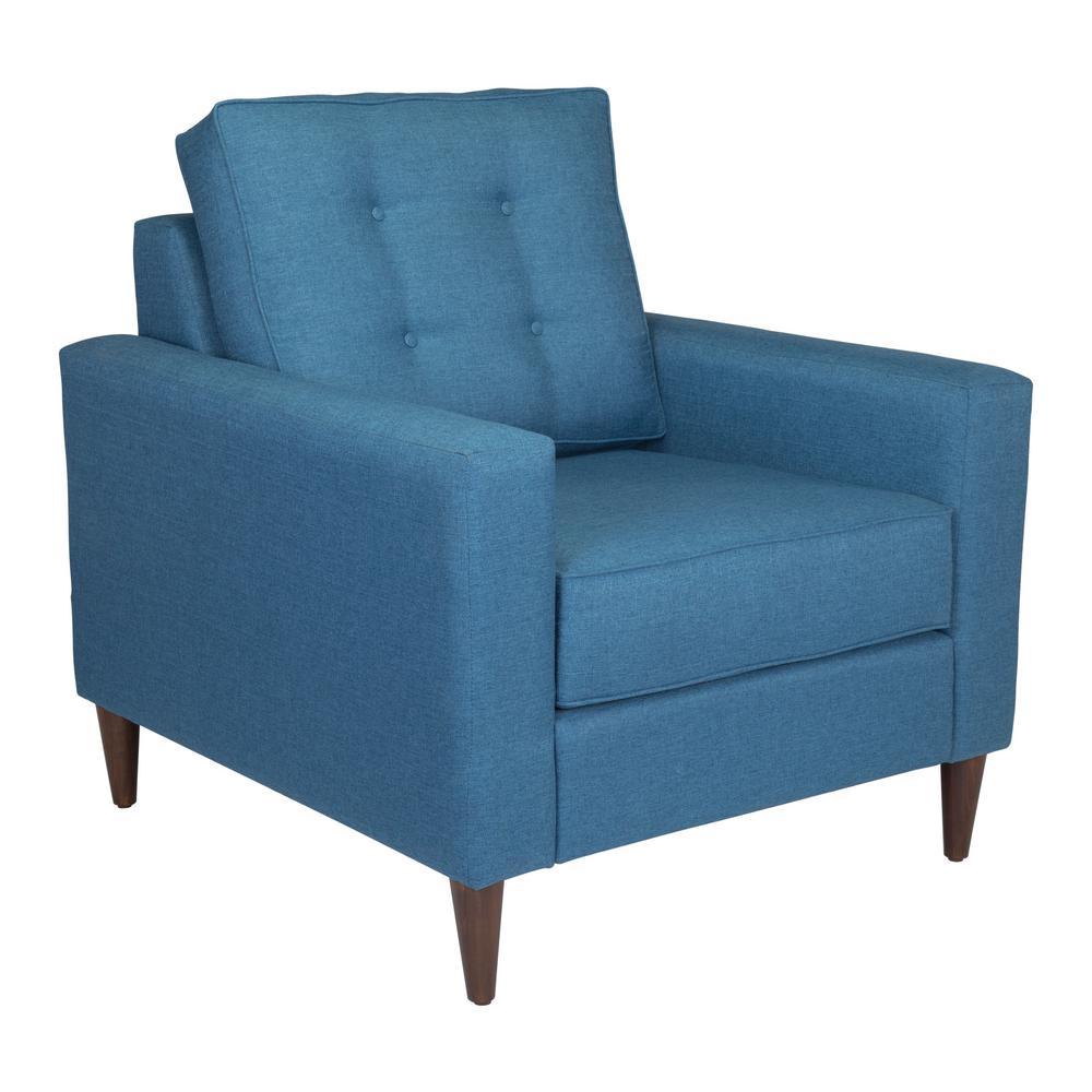 Morgan Blue Arm Chair