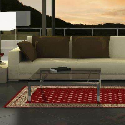 red rugs for living room. Ankara Pin Dot Red 8 ft  x 11 Area Rug Rugs The Home Depot