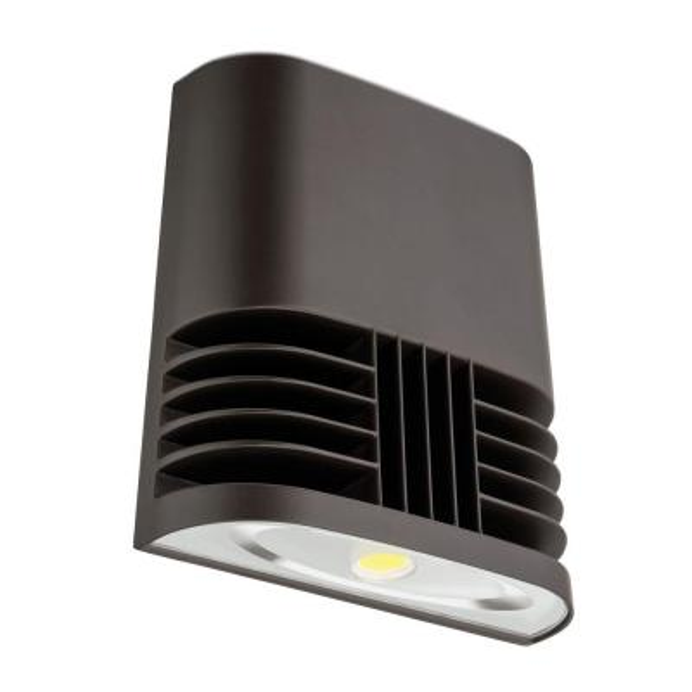 OLWX1 Contractor Select 13-Watt Dark Bronze Outdoor Low-Profile Integrated LED Wall Pack Light