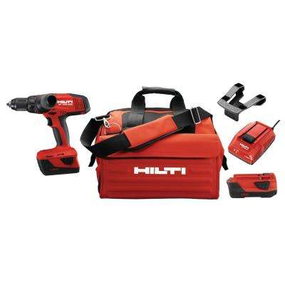 SF 10-Watt 22-Volt Cordless Drill Driver with Active Torque Control 4-Speeds for High Torque Applications with Tool Bag