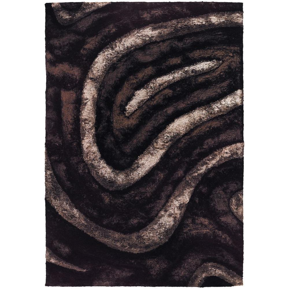 Flemish Brown/Beige/Black 5 ft. x 7 ft. 6 in. Indoor Area