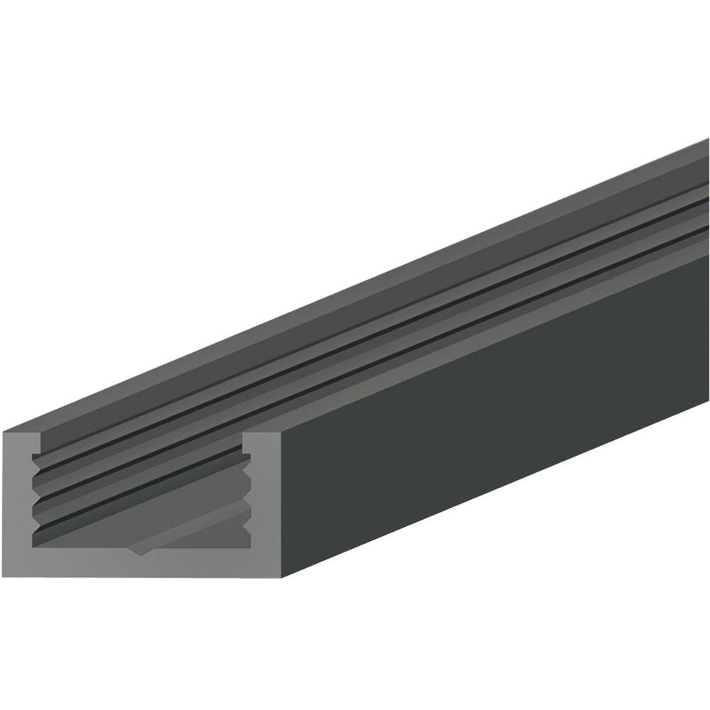 Shaw Black 0 25 In Thick X 0 56 In Wide X 96 In Length
