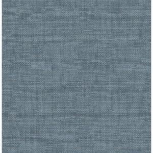 56.4 sq. ft. Twine Blue Grass Weave Wallpaper
