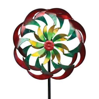 84 in. Spinner Wind Power Flower