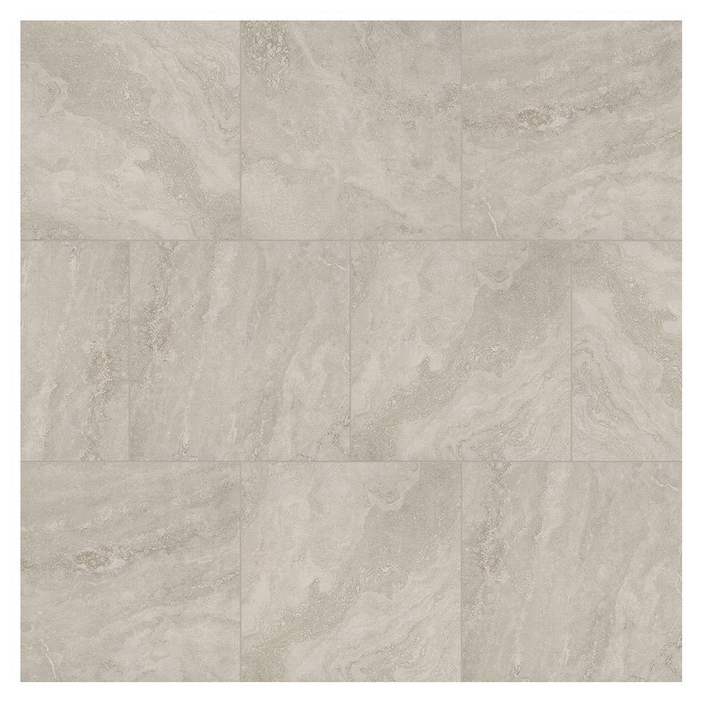 Daltile Westbrook Stone Eclipse 18 In X 18 In Glazed Ceramic Floor And Wall Tile 17 44 Sq Ft Case Wb041818hd1pv The Home Depot