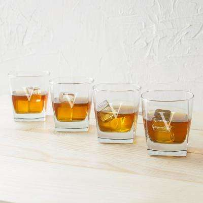Rocks Glasses - V (Set of 4)