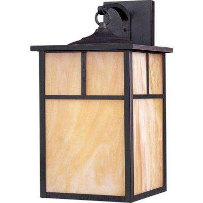 Coldwater 1-Light Burnished Outdoor Wall Mount
