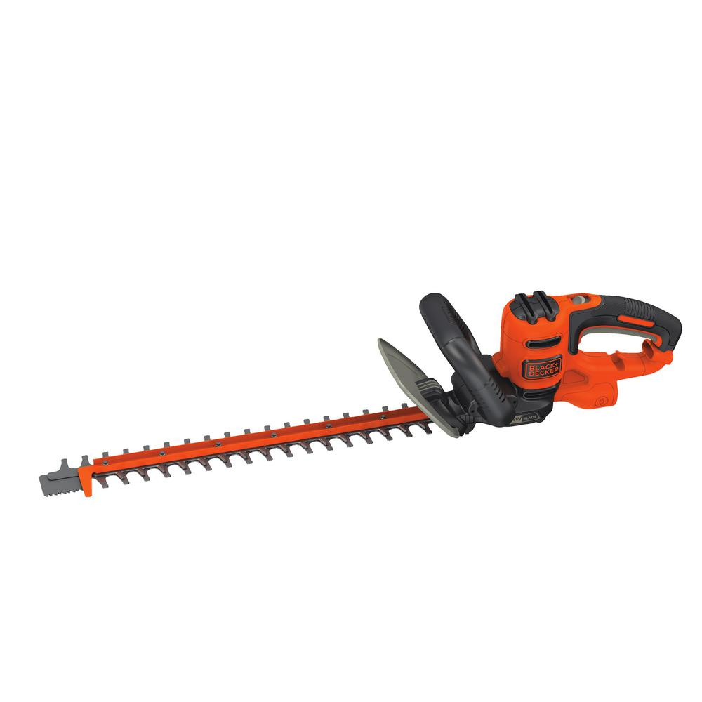 Best Electric Hedge Trimmer 2020 BLACK+DECKER 20 in. 3.8 Amp Corded Electric Hedge Trimmer BEHTS300