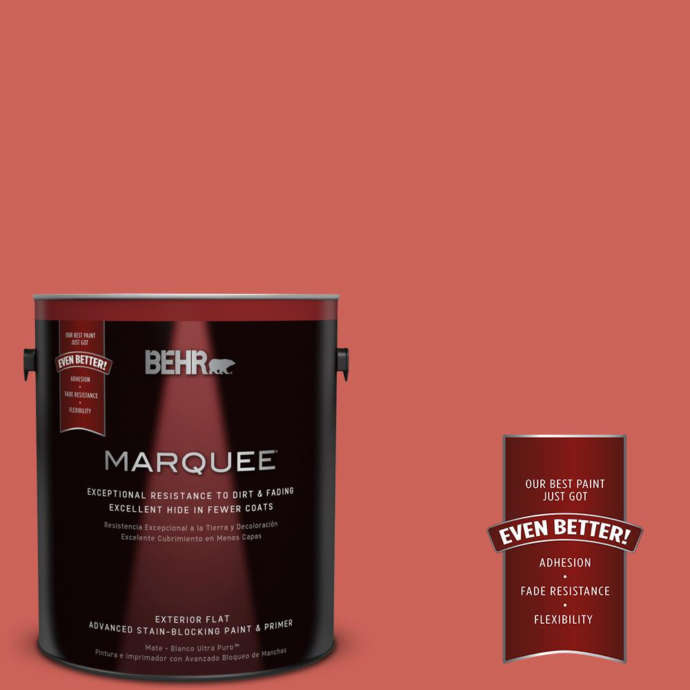 BEHR MARQUEE 1-gal. #PPU1-5 Japanese Kimono Flat Exterior Paint