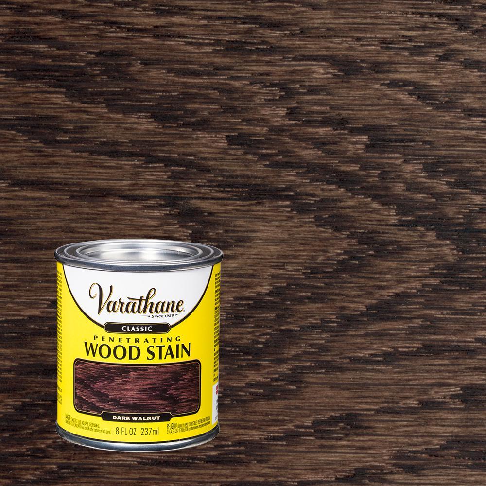 Varathane 8 oz. Dark Walnut Classic Wood Interior Stain