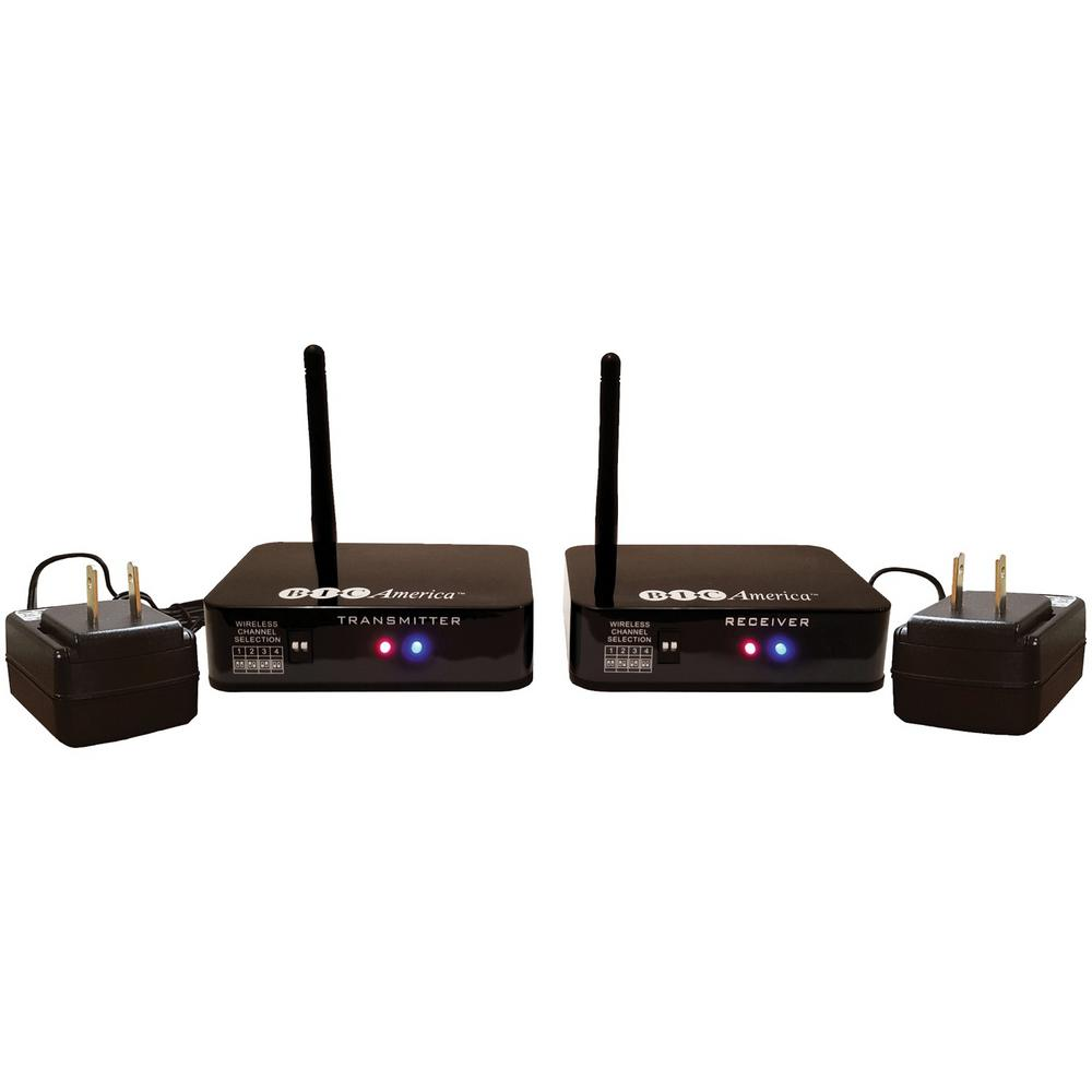 Wireless Transmitter/Receiver Kit for Hookup of Wireless Subwoofers and Wireless