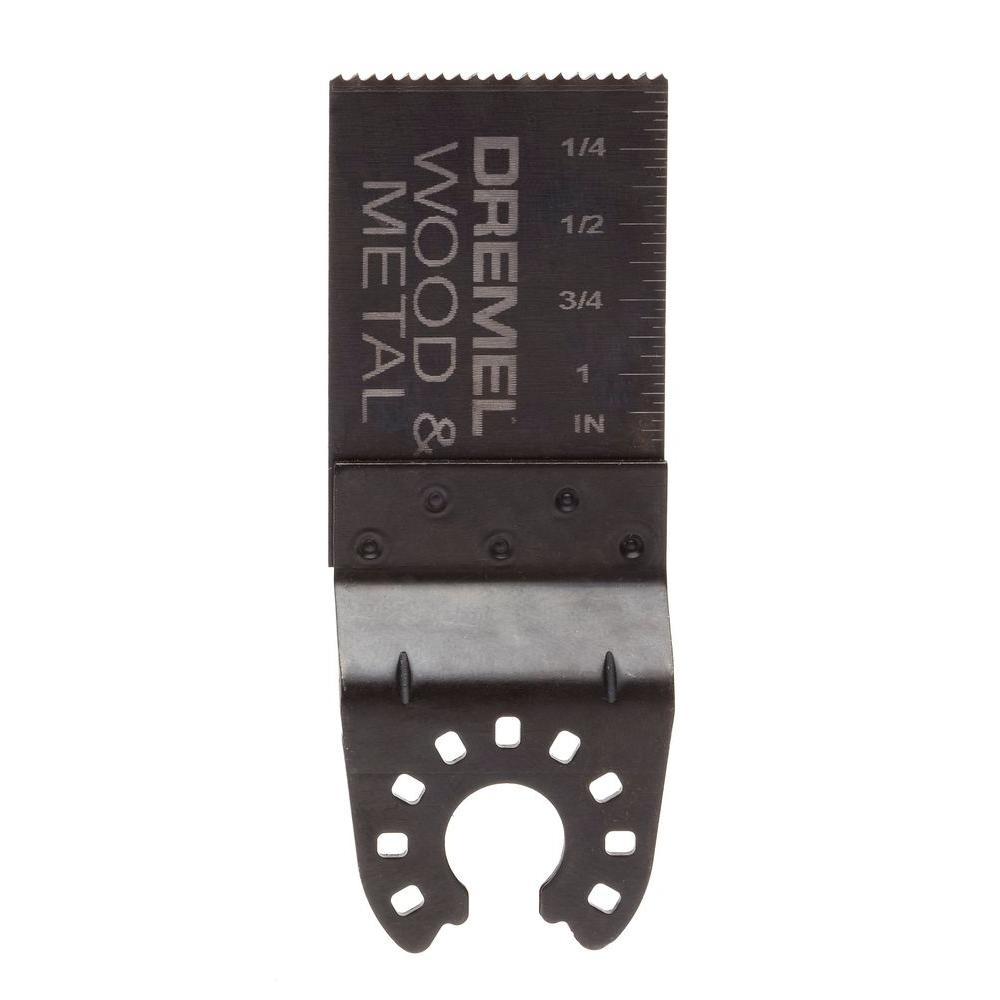 1-1/8 in. Multi-Max Bi-Metal Flush Cut Oscillating Tool Blade for Flooring and Tile Installation