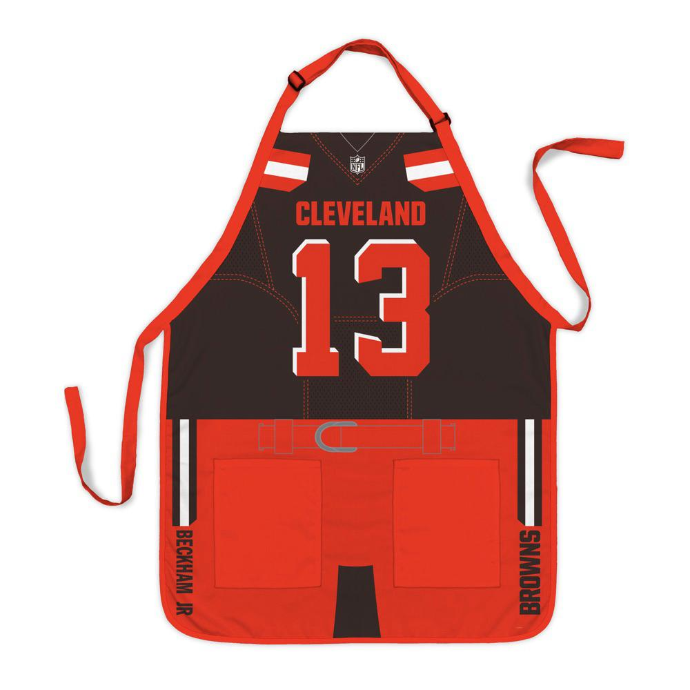newest 1c21e e0aed Party Animal Odell Beckham Jr Cleveland Browns NFL Jersey Apron