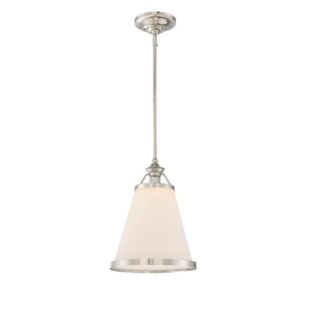 Filament Design 1-Light Polished Nickel Pendant
