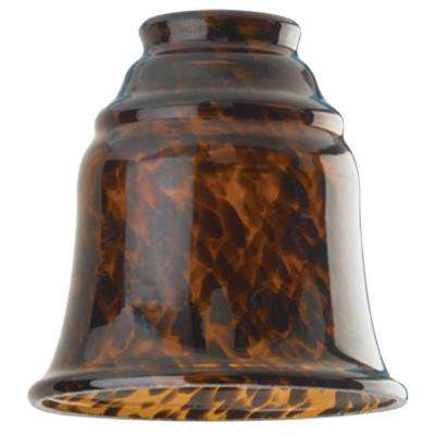 5-1/4 in. Handblown Tortoise Bell with 2-1/4 in. Fitter and 4-3/4 in. Width