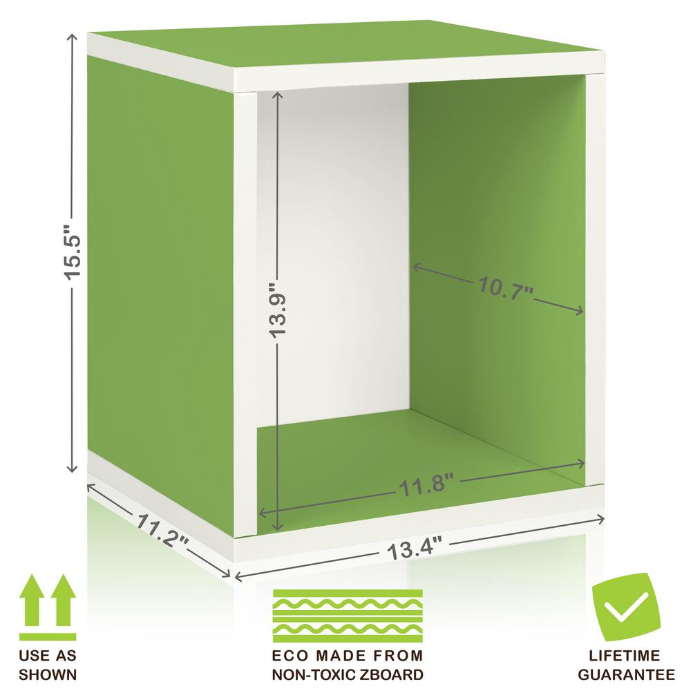 Way Basics Eco Stackable ZBoard 11.2 X 13.4 X 12.8 Tool Free Assembly Tall  Storage