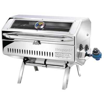 Newport 2 Gourmet Series Infrared Portable Propane Gas Barbecue Grill in Stainless Steel