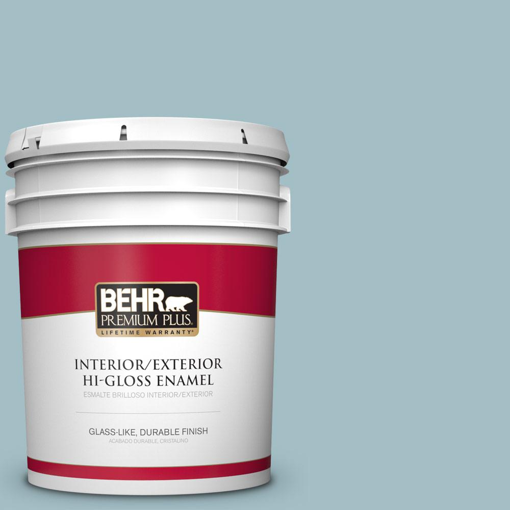 5 gal. #PPU13-11 Clear Vista Hi-Gloss Enamel Interior/Exterior Paint